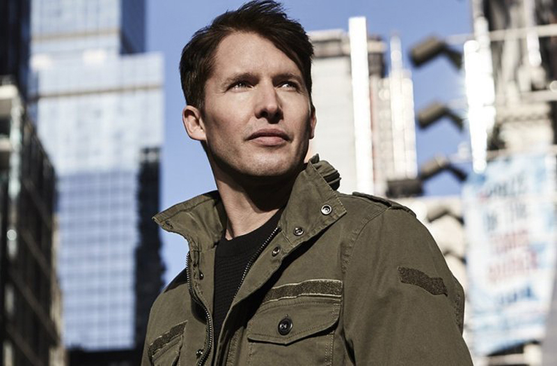 James Blunt no Tom Brasil