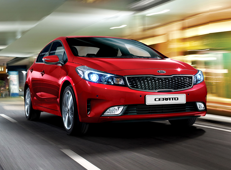 Kia Cerato: o sedã com design incomparável